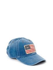 ICONIC CAP W/FLAG - FRESHWATER