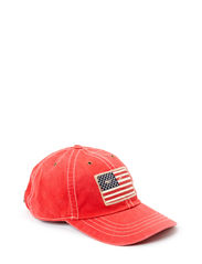 ICONIC CAP W/FLAG - RL 2000 RED