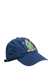 CREST CHINO SPORTS CAP - HOLIDAY NAVY