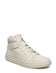 JORY CALFSKIN HIGH-TOP SNEAKER - ARTIST CREAM