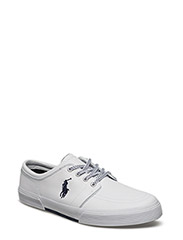FAXON NAPPA LEATHER SNEAKER - WHITE