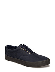 VAUGHN LEATHER SNEAKER - NEWPORT NAVY/NI