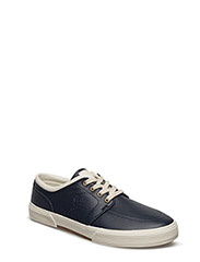 FAXON NAPPA LEATHER SNEAKER - NEWPORT NAVY