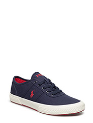 Tyrian Canvas Low-Top Sneaker - NEWPORT NAVY