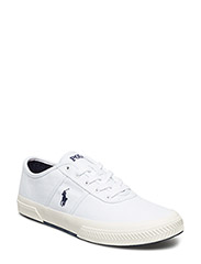 Tyrian Canvas Low-Top Sneaker - PURE WHITE