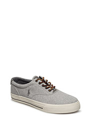 VAUGHN LINEN-COTTON SNEAKER - GREY