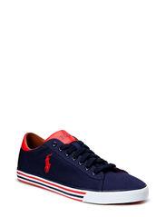 Harvey Canvas Sneaker - NPT NVY/RL RED