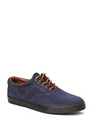 Vaughn Leather Sneaker - NEWPORT NAVY