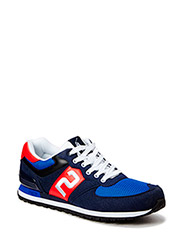 SLATON NUMBR - NAVY/RED