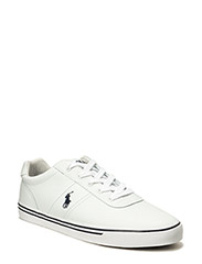 Hanford Leather Sneaker - WHITE