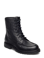 FLAXBY-BOOTS-WORKBOOT - BLACK