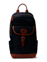 NYLON SLING BAG - NAVY