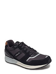 SUEDE/BAL MSH-TRAIN100-SK-ATH - BLACK/CHARCOAL