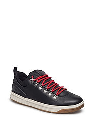 Adventure 100 Leather Sneaker - BLACK