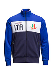 ITALY TRACK JACKET - FRENCH NAVY