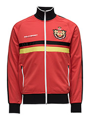SPAIN TRACK JACKET - AFRICAN RED