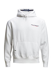 FLEECE PULLOVER HOODIE - PURE WHITE