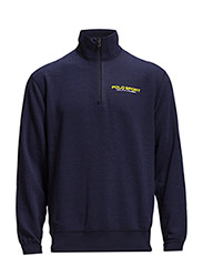 FLEECE HALF-ZIP PULLOVER - FRENCH NAVY