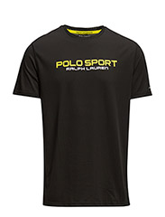 PERFORMANCE JERSEY T-SHIRT - POLO BLACK