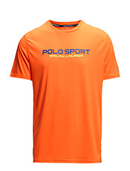 PERFORMANCE JERSEY T-SHIRT - SHOCKING ORANGE