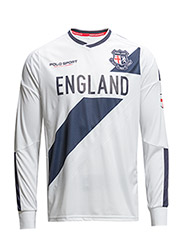 ENGLAND LONG-SLEEVED T-SHIRT - PURE WHITE
