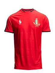ITALY JERSEY T-SHIRT - AFRICAN RED