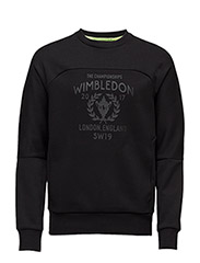 WIMBLEDON SWEATSHIRT - POLO BLACK