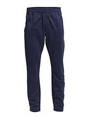 COTTON-BLEND-PIQUÉ TRACK PANT - FRENCH NAVY