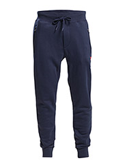 COTTON-BLEND FLEECE PANT - FRENCH NAVY