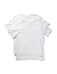 2 PACKS V-NECK - WHITE