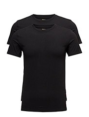 Crewneck T-Shirt 2-Pack - 2PK POLO BLACK