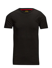 SHORT SLEEVE CREW - POLO BLACK