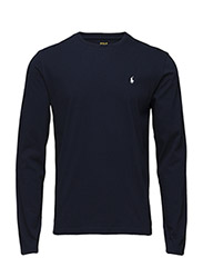 Long-Sleeved Jersey Crewneck - CRUISE NAVY