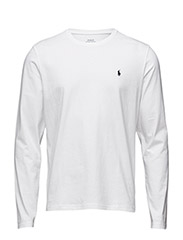 LONG SLEEVE CREW - WHITE