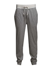 PYJAMA LONG PANT  W/SELF WAIST - LIGHT GREY HEAT