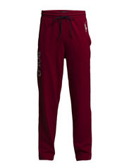 PYJAMA LONG PANT  W/SELF WAIST - CARRIAGE RED