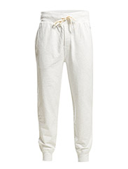PYJAMA LONG PANT  W/SELF WAIST - SILVER WHITE HT