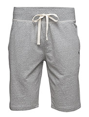 SLIM FLEECE SLEEP SHORT - ANDOVER HEATHER