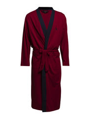 KIMONO ROBE - CARRIAGE RED