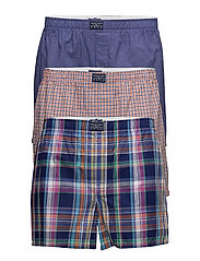 Cotton Boxer 3-Pack - 3PK JOHN/HENRY/DOVER PLAID