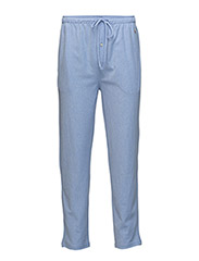 Knit Oxford Sleep Pant - HARBOUR ISLAND BLUE