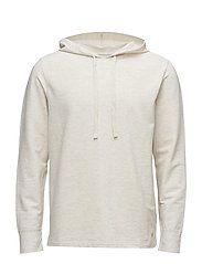 LT WT FLEECE-HDE-STP - OATMEAL HEATHER