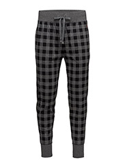 PRINTED COTTON-SPN-SLB - CHR/BLK BUFFALO CHECK