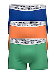 Stretch Cotton Trunk 3-Pack - 3PK SAPPHIRE/APPLE/ORANGE