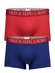 Stretch-Cotton-Trunk 2-Pack - ROYAL MARINE/RL2000 RED