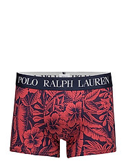 Floral Stretch Cotton Trunk - BRIGHT NAVY/SUNRI