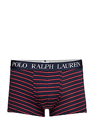 Striped Stretch Cotton Trunk - CRUISE NAVY/RL200