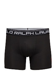 Brushed Microfiber Boxer Brief - POLO BLACK