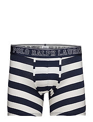 Stretch Cotton Boxer Brief - WHITE/CRUISE NAVY RUGBY STRIPE