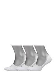 SCK 3PK LT WEIGHT LINER W/ ARC - WHITE